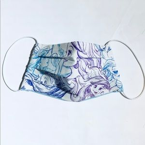 Other - KID Disney Ariel Mermaid Sketch Reusable Face Mask